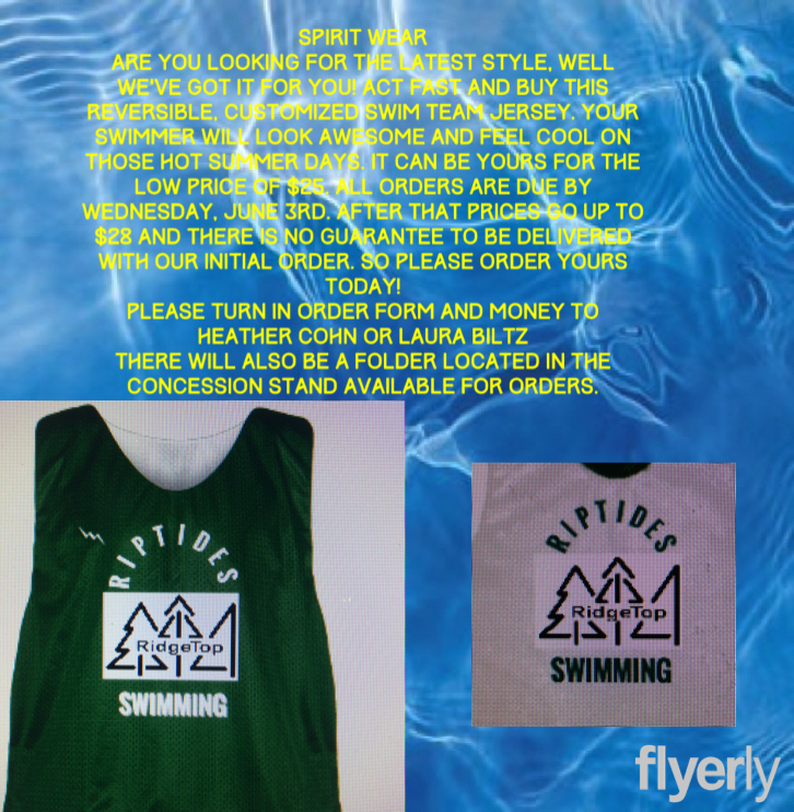 RT Riptides Pinnies